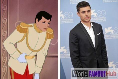 Top 17 Disney characters that look like celebrities
