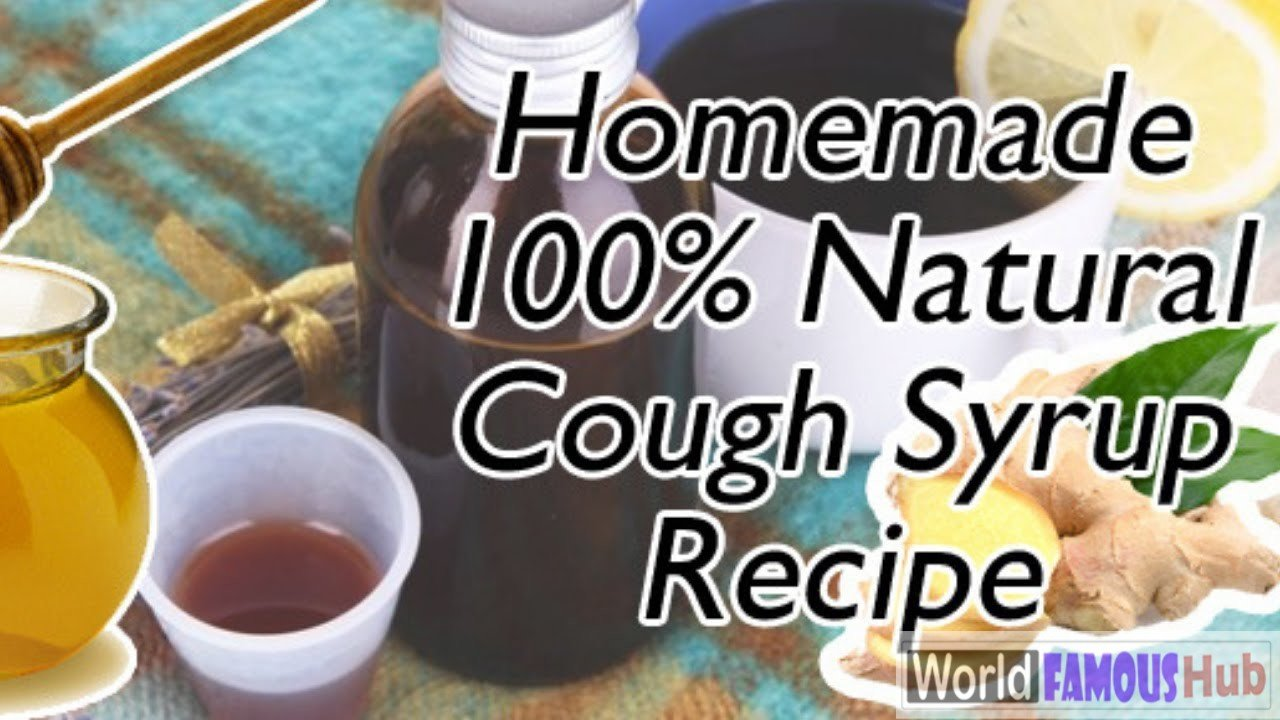 How to Make Natural Cough Syrup At Home