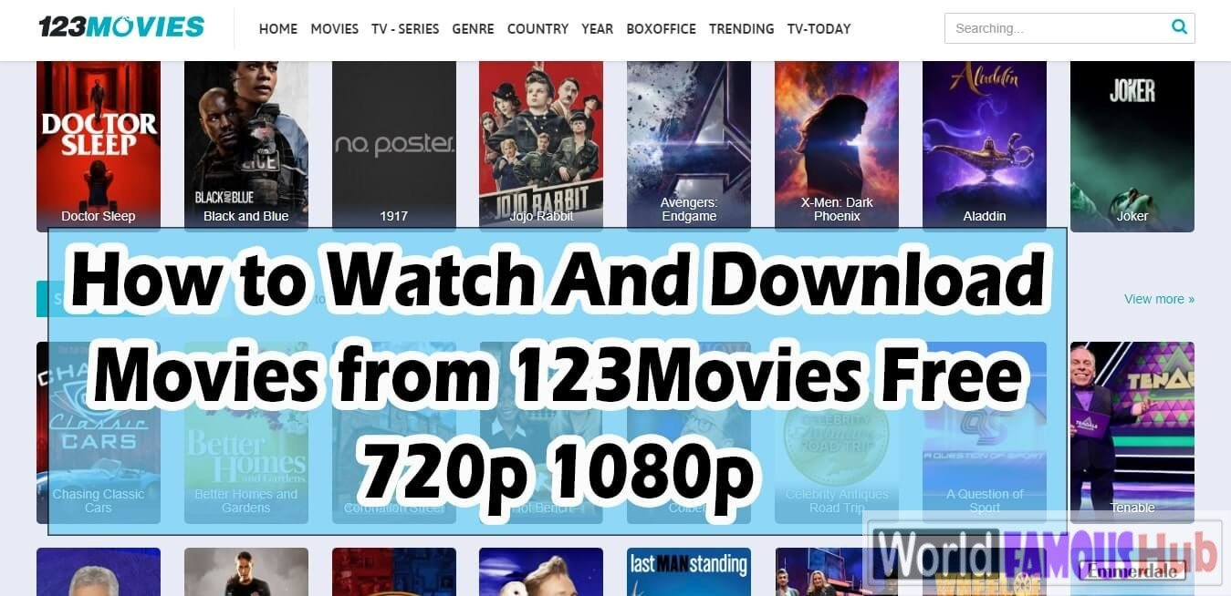 123Movies Unblock and Working Proxy - How to Safely Watch on 123movies Website in 2020