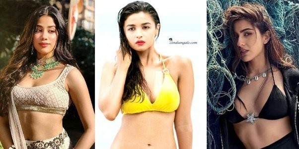 Top 5 Best Hottest Trending Young Bollywood Actress
