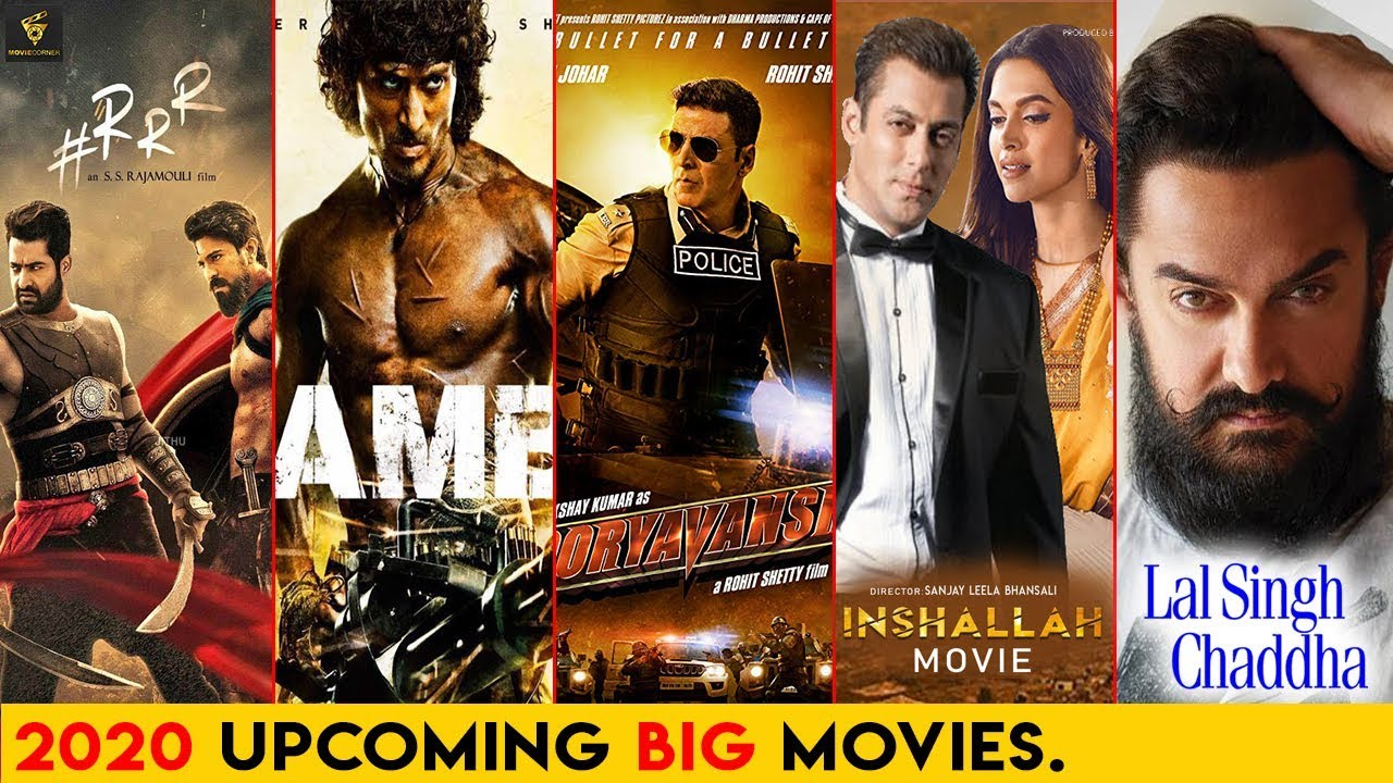 Top 5 best upcoming Bollywood movies in 2020