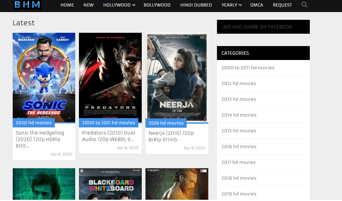 BestHDmovies Website | The Best Website of Watching All HD Quality Movies