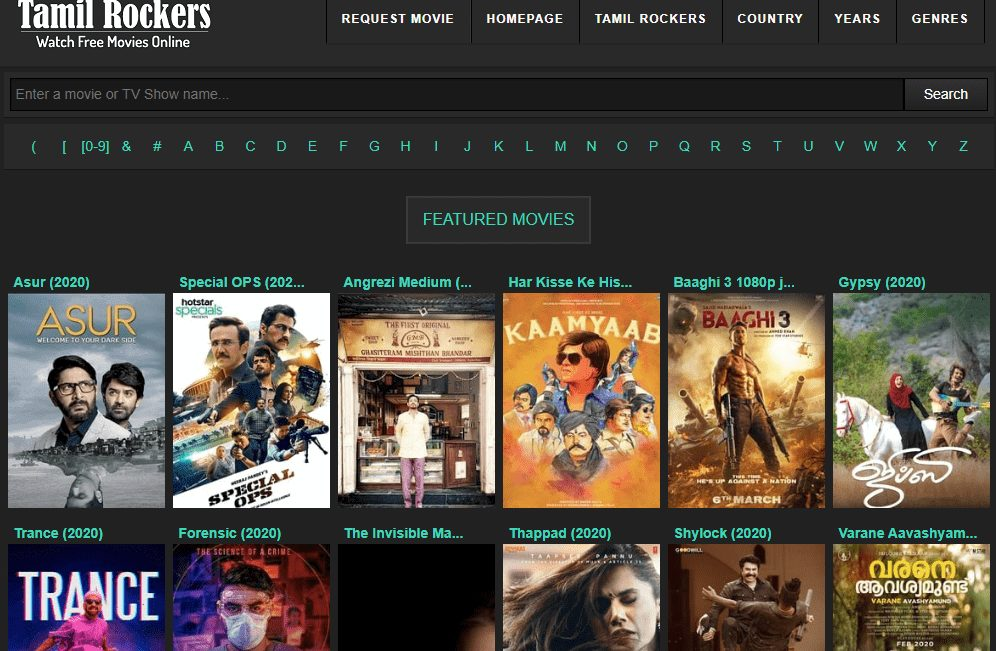 TamilRockers - Bollywood, Hollywood, Dubbed Movies Online!