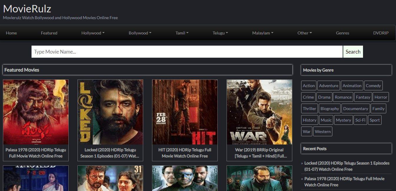 Movierulz Best Alternatives: Latest Bollywood, Hollywood, Tamil HD Movies