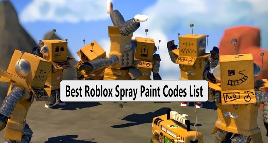 300+ Top Best Roblox Spray Paint Codes List ⭐️