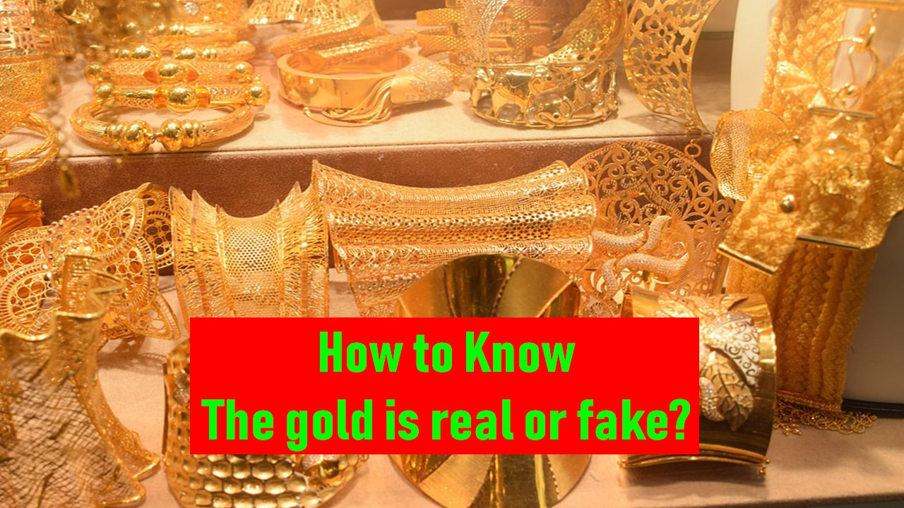 gold is real or fake